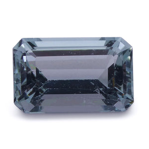 Aquamarine 3.19 cts 11.08x7.08x5.61mmmm Rectangular Blue  $130