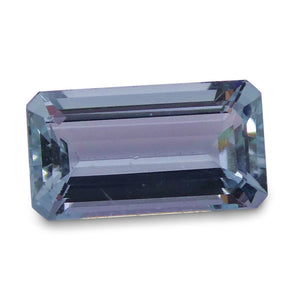 Aquamarine 1.52 cts 9.70x5.35x3.64mm Baguette Blue  $50