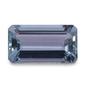 1.52 ct Baguette Aquamarine