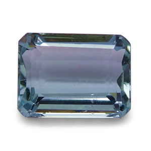 Aquamarine 1.84 cts 8.41x6.25x4.10mm Emerald Blue  $60