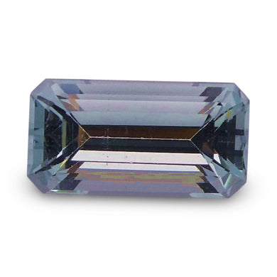 Aquamarine 1.51 cts 9.38x4.94x4.34mm Baguette Blue  $50
