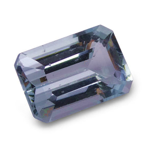 1.63 ct Emerald Cut Aquamarine