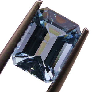 1.83 ct Emerald Cut Aquamarine