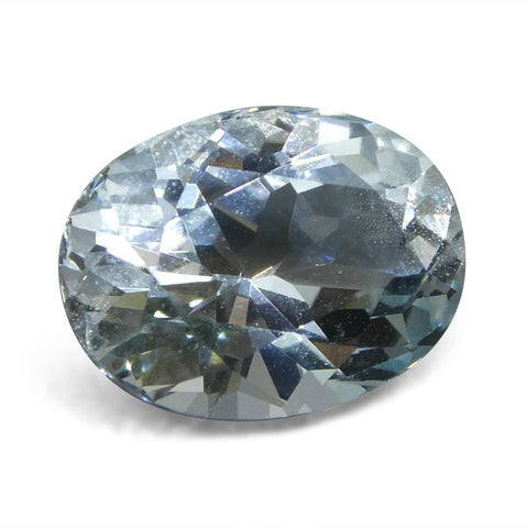 3.95 ct Oval Aquamarine Unheated From Sri Lanka