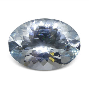 4.66 ct Oval Aquamarine - Skyjems Wholesale Gemstones