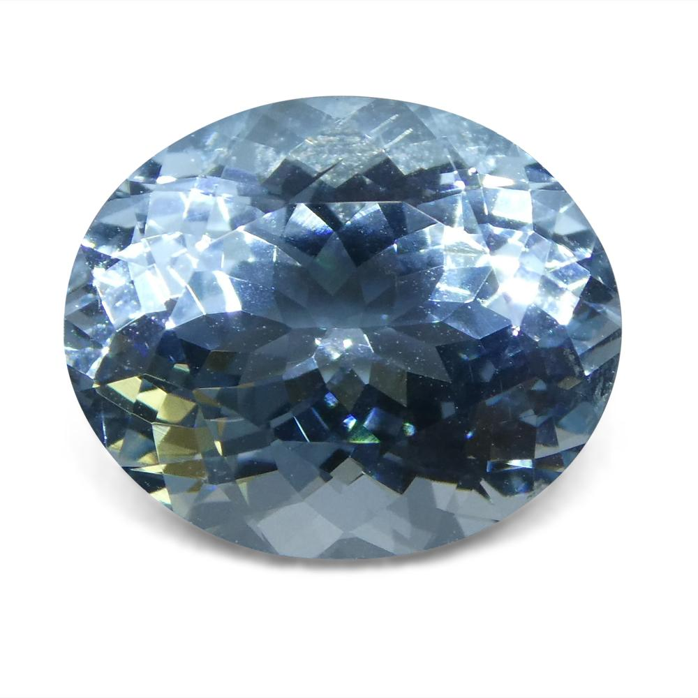 5.65 ct Oval Aquamarine