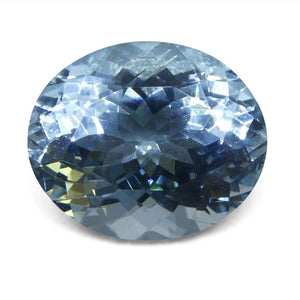 5.65 ct Oval Aquamarine - Skyjems Wholesale Gemstones