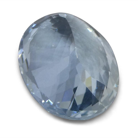 5.15 ct Oval Aquamarine