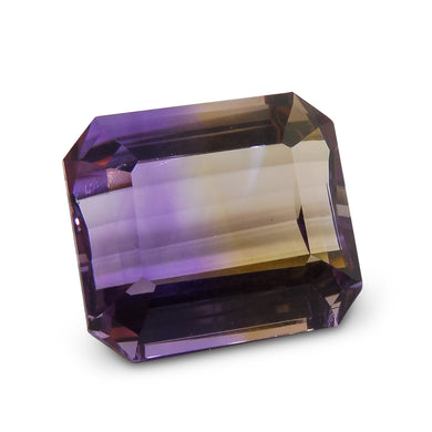 17.87 ct Emerald Cut Ametrine - Skyjems Wholesale Gemstones