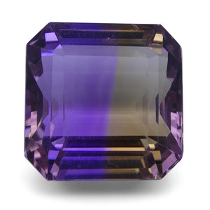 Ametrine 28.69 cts 16.55x16.53x12.50mm Square Yellow / Purple $460
