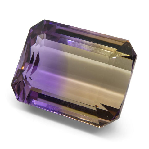 26.11 ct Emerald Cut Ametrine