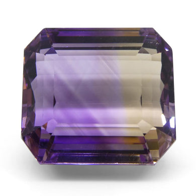 21.63 ct Emerald Cut Ametrine - Skyjems Wholesale Gemstones