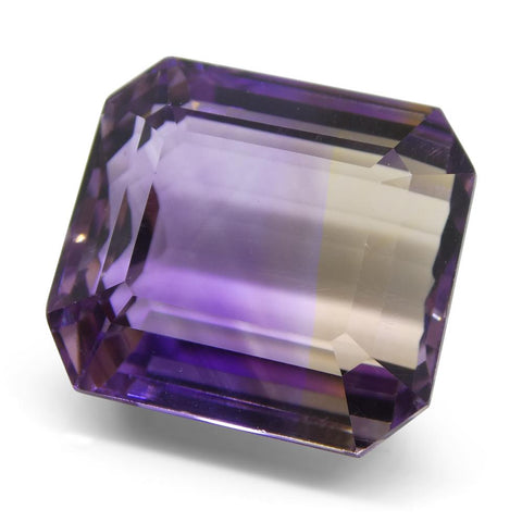 21.63 ct Emerald Cut Ametrine
