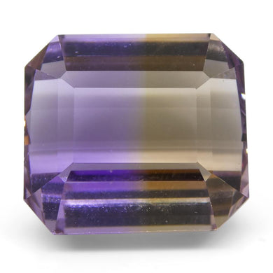 20.76 ct Emerald Cut Ametrine - Skyjems Wholesale Gemstones