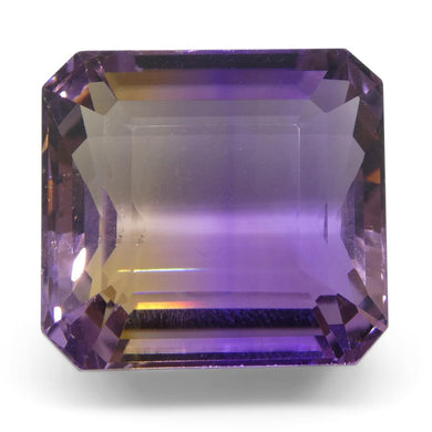 22.40 ct Emerald Cut Ametrine - Skyjems Wholesale Gemstones