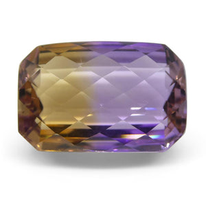 21.21 ct Cushion Checkerboard Ametrine