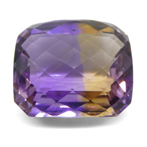 31.72 ct Cushion Checkerboard Ametrine