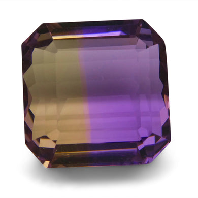 Ametrine 20.2 cts 14.77x14.74x10.68mm Square Purple & Yellow  $200
