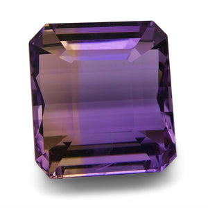 Ametrine 17.4 cts 15.19x13.77x10.15mm Square Purple & Yellow  $170