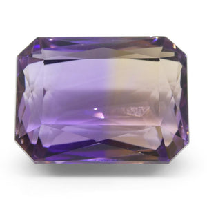 36.08 ct Emerald Cut Ametrine - Skyjems Wholesale Gemstones