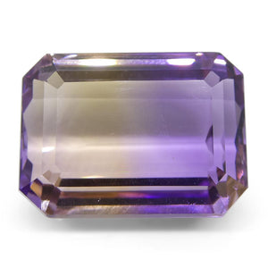 29.4 ct Emerald Cut Ametrine - Skyjems Wholesale Gemstones