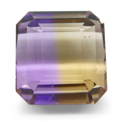 12.1 ct Square Ametrine - Skyjems Wholesale Gemstones