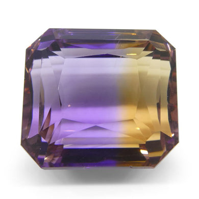 39.45 ct Emerald Cut Ametrine - Skyjems Wholesale Gemstones