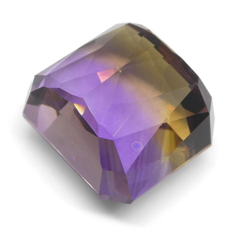 35.21 ct Square Ametrine