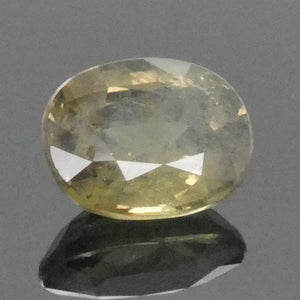 1.30ct Oval Green to Yellow Alexandrite