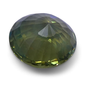 2.03ct GRS Certified Alexandrite (Green to Pinkish-Orange Color Change)