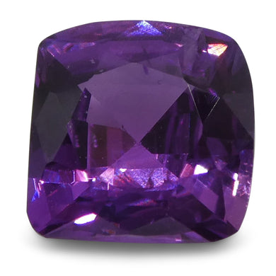 Purple Sapphire 1.05cts 5.81x5.79x3.37mm Cushion Purple $250