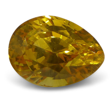 1.35ct Yellow Sapphire Pear