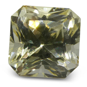 0.85ct Yellow Sapphire Square - Skyjems Wholesale Gemstones