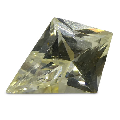 0.51ct Yellow Sapphire Kite - Skyjems Wholesale Gemstones