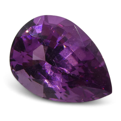 0.88ct Pink Sapphire Pear