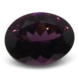 Spinel 1.31cts 7.42x5.68x4.03mm Oval Pinkish Purple $150
