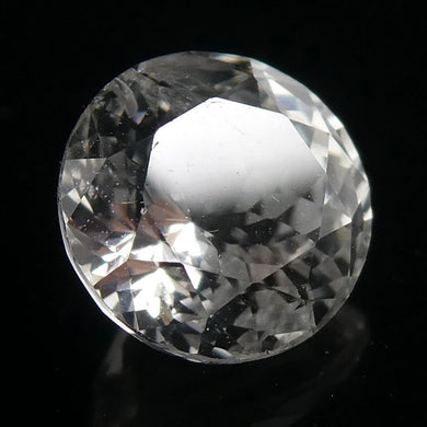 1.24ct Round White Sapphire - Skyjems Wholesale Gemstones