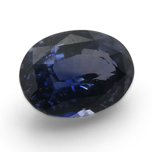 1.05ct Oval Blue Spinel - Skyjems Wholesale Gemstones