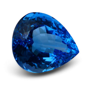 66.17 ct Pear Swiss Blue Topaz