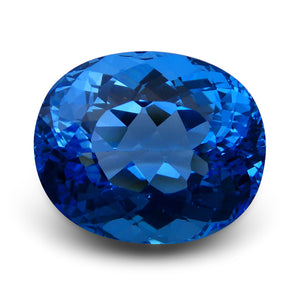 66.90 ct Oval Swiss Blue Topaz