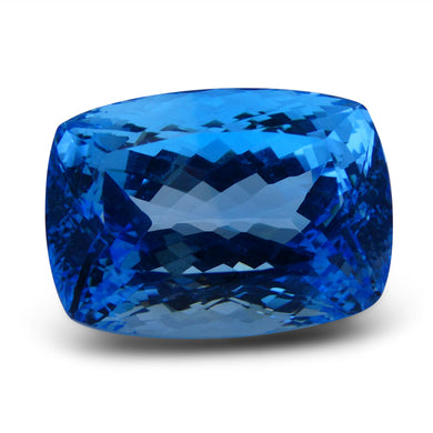 68.48 ct Cushion Swiss Blue Topaz