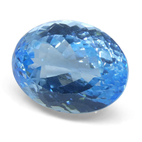 32 ct Oval Blue Topaz