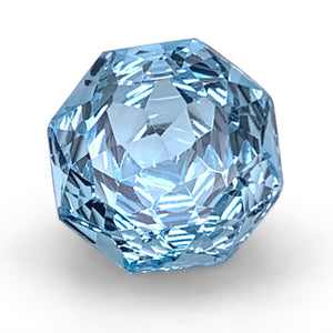 5.60ct Round Blue Topaz Fantasy/Fancy Cut - Skyjems Wholesale Gemstones
