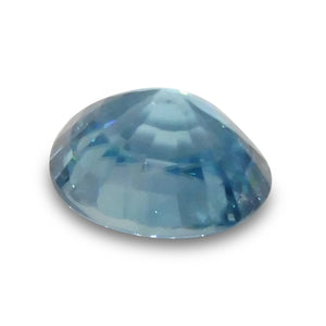 3.06 ct Oval Blue Zircon