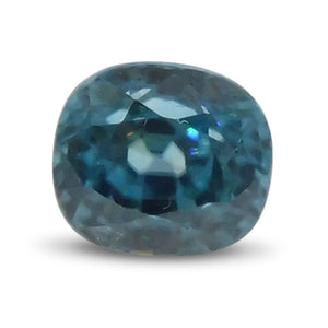 2.65 ct Oval Blue Zircon - Skyjems Wholesale Gemstones