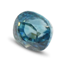 2.65 ct Oval Blue Zircon