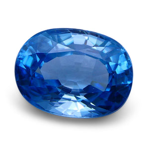 Blue Zircon 4.5 cts 10.36x7.74x5.23mmmm Oval  Blue  $405