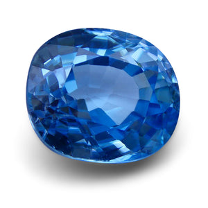 4.75 ct Oval Blue Zircon IGI Certified
