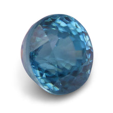 4.57 ct Round Blue Zircon