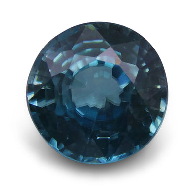 Blue Zircon 3.28 cts 7.90 - 7.89x5.13mm Round Blue  $280
